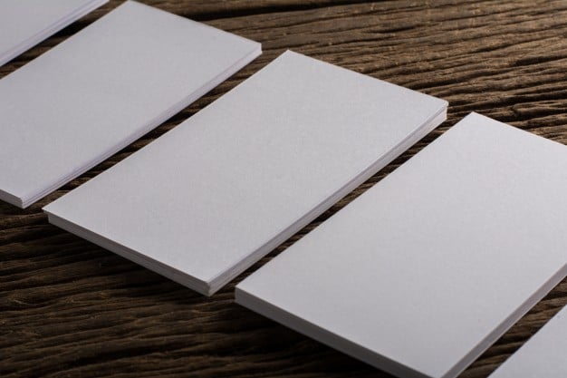 Blank business cards stringing stationery blank business cards reheart Gallery